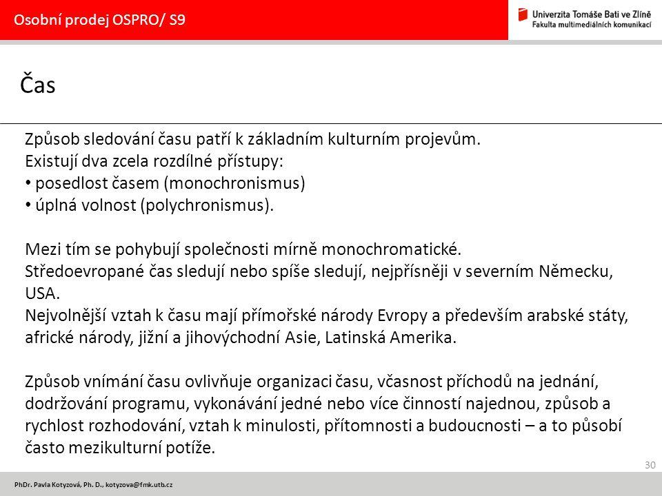 30 PhDr.Pavla Kotyzová, Ph.