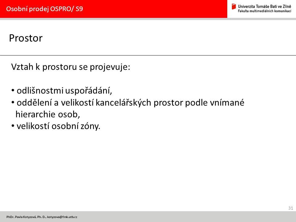 31 PhDr.Pavla Kotyzová, Ph.
