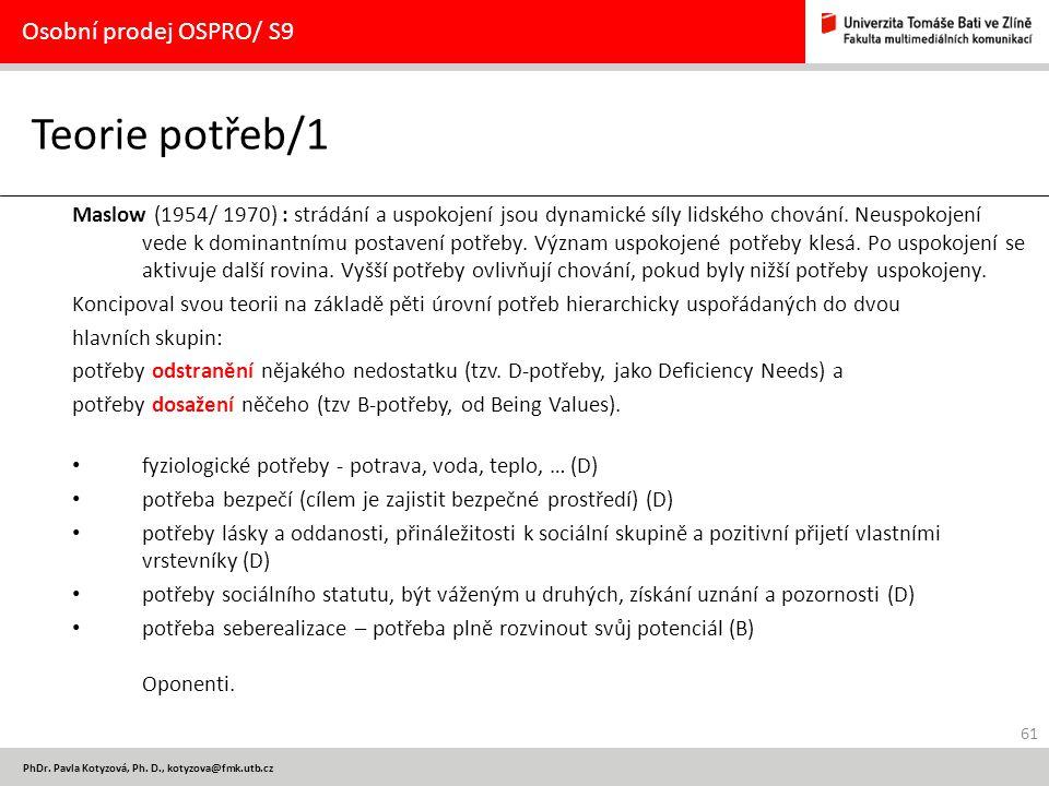 61 PhDr.Pavla Kotyzová, Ph.