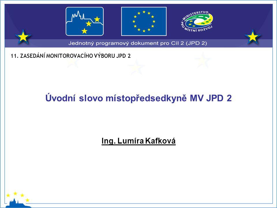 Opatření 1.1 – Dopravní systémy podporující přeměnu městského prostředí Celková alokace – 42 510 964 EUR