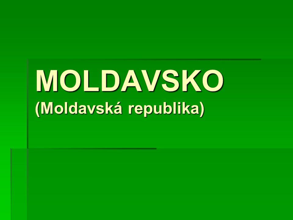 MOLDAVSKO (Moldavská republika)