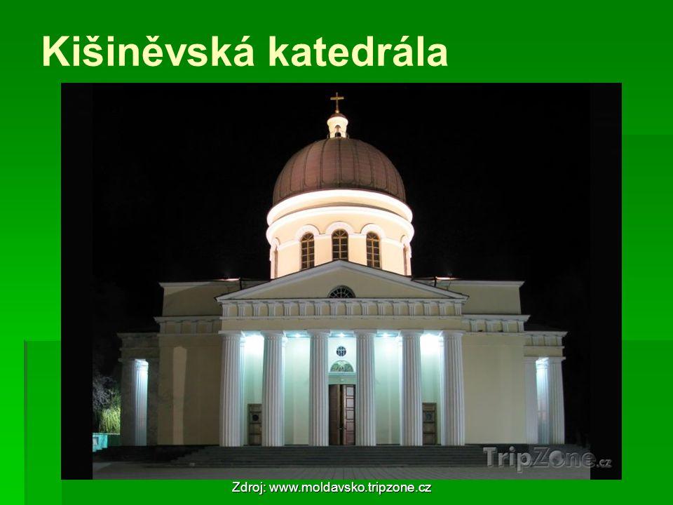 Kišiněvská katedrála Zdroj: www.moldavsko.tripzone.cz