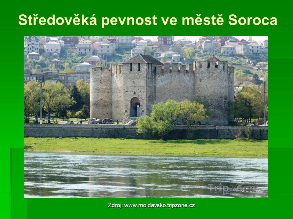 Středověká pevnost ve městě Soroca Zdroj: www.moldavsko.tripzone.cz