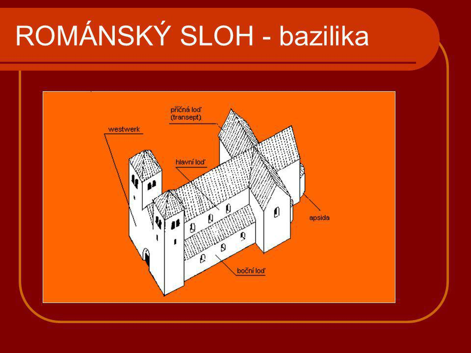 ROMÁNSKÝ SLOH - rotundy