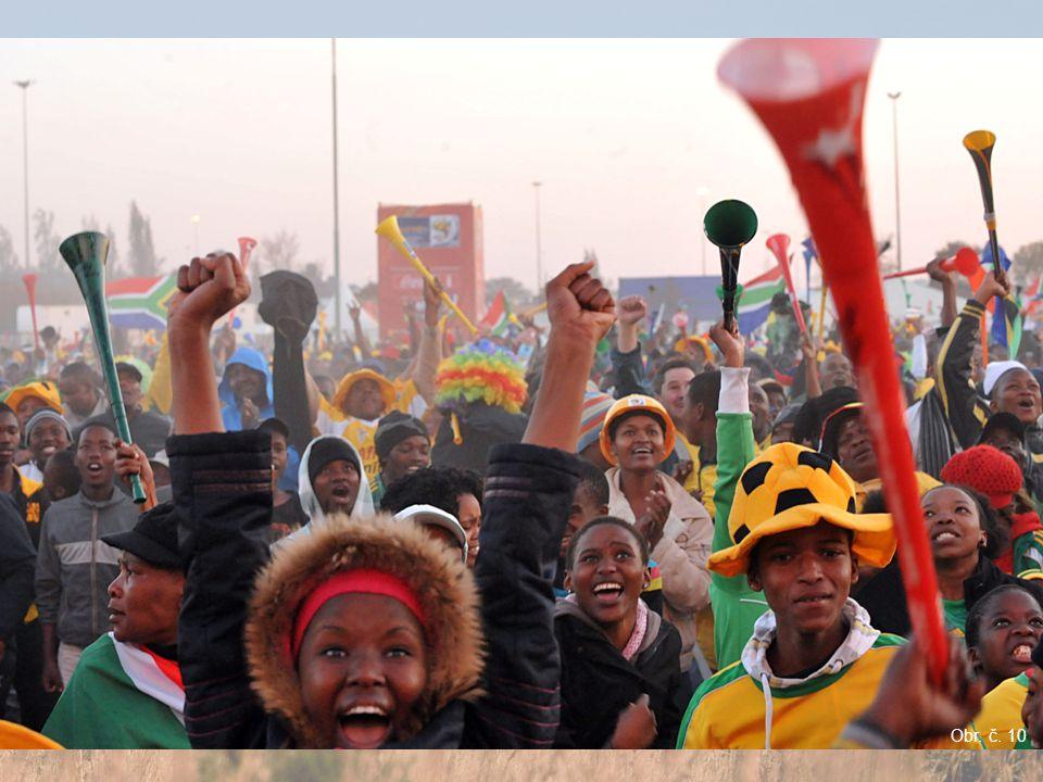 MS světa ve fotbale 2010 Stadion v Kapském městě Johannesburg Obr. č. 8 Obr. č. 9 Obr. č. 10