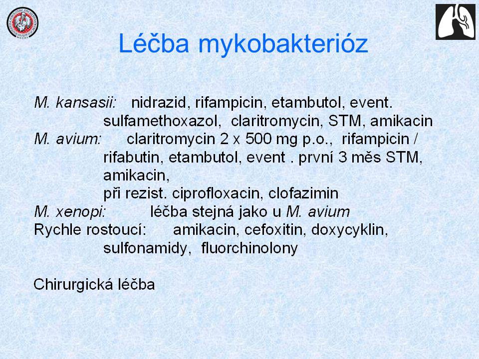 Léčba mykobakterióz