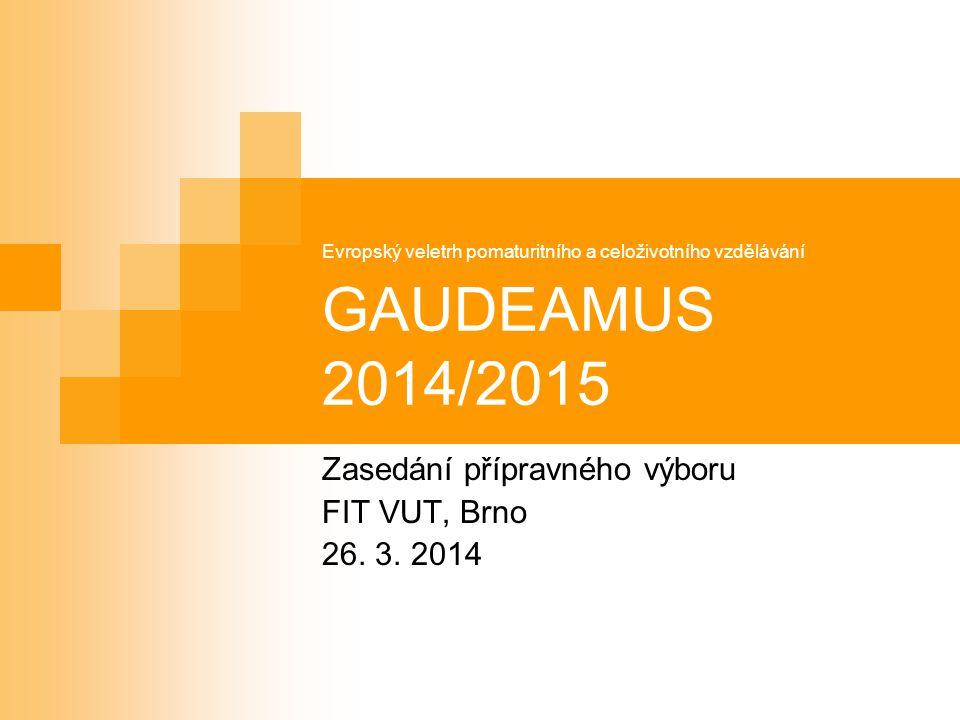 Rekapitulace veletrhů Gaudeamus v roce 2013/2014 Gaudeamus Nitra (15.-17.