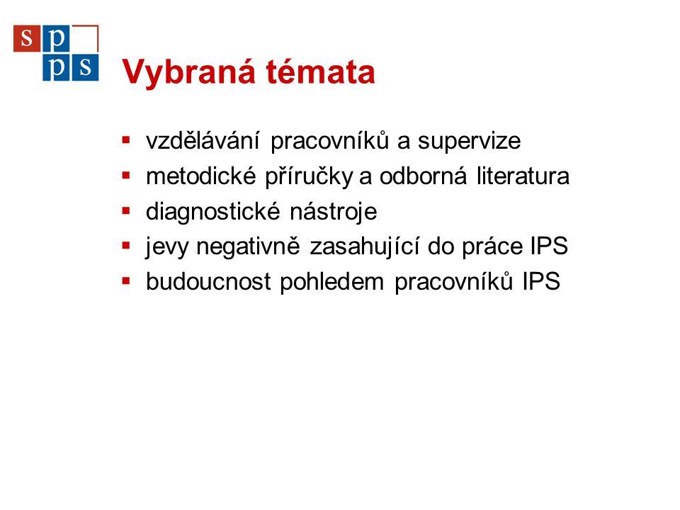 Základní informace o IPS  Informační a poradenská střediska pro volbu a změnu povolání úřadů práce (IPS) byla zřizována v letech 1993-1995 na základě Metodického pokynu MPSV č.