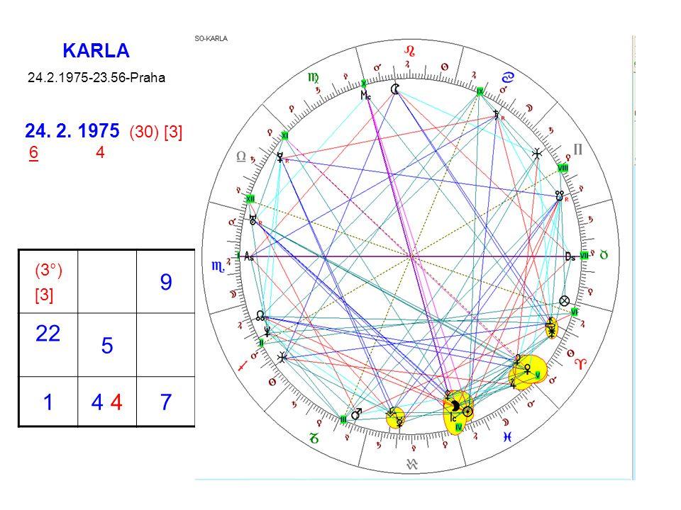 KARLA 24.2.1975-23.56-Praha (3°) [3] 9 22 5 14 7 24. 2. 1975 (30) [3] 6 4