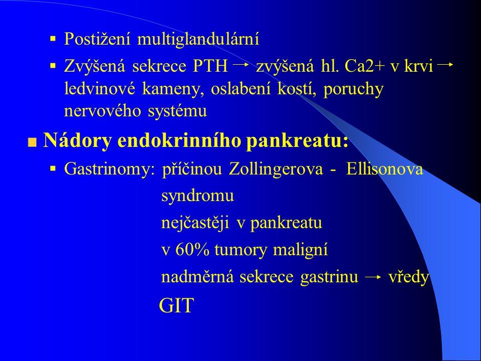 Screening Techniky molekulární genetiky, DNA technologie FMTC – k dg gen.vyšetření podmínkou MEN 1, MEN 2A – k dg průkaz alespoň 2 endokrinopatií Prospektivní screening- přesun dg u příbuzných probanda do 2.
