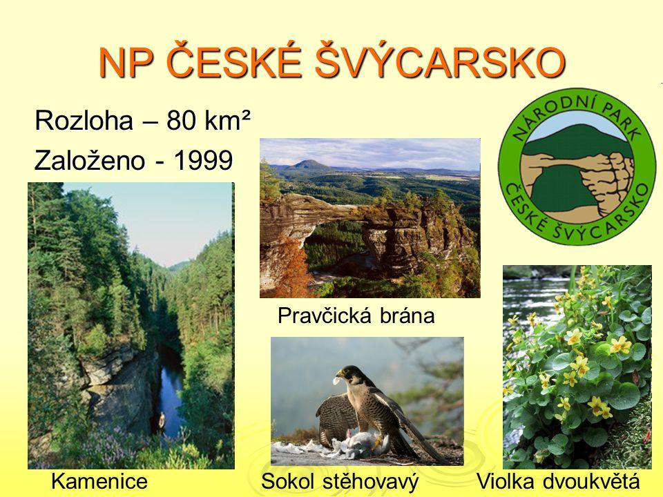ÚKOLY 1.Přiřaďte znaky k národním parkům.1. 2. 3.