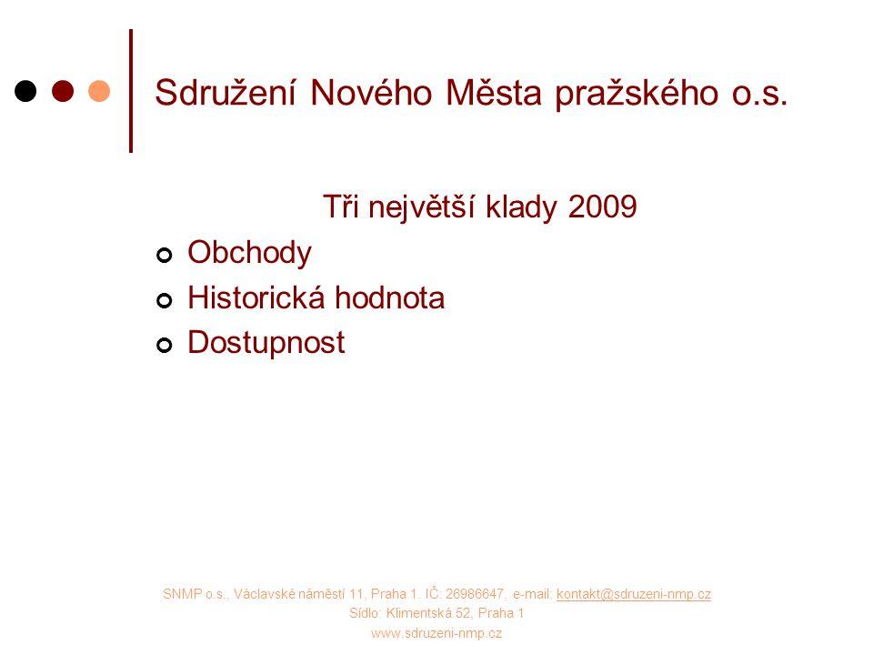 SNMP o.s., Václavské náměstí 11, Praha 1.
