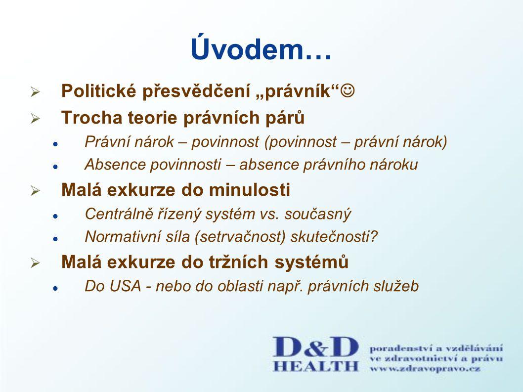 Ondřej Dostál Platforma zdravotních pojištěnců ČR, o.s. dostalondrej@seznam.cz Děkuji za pozornost