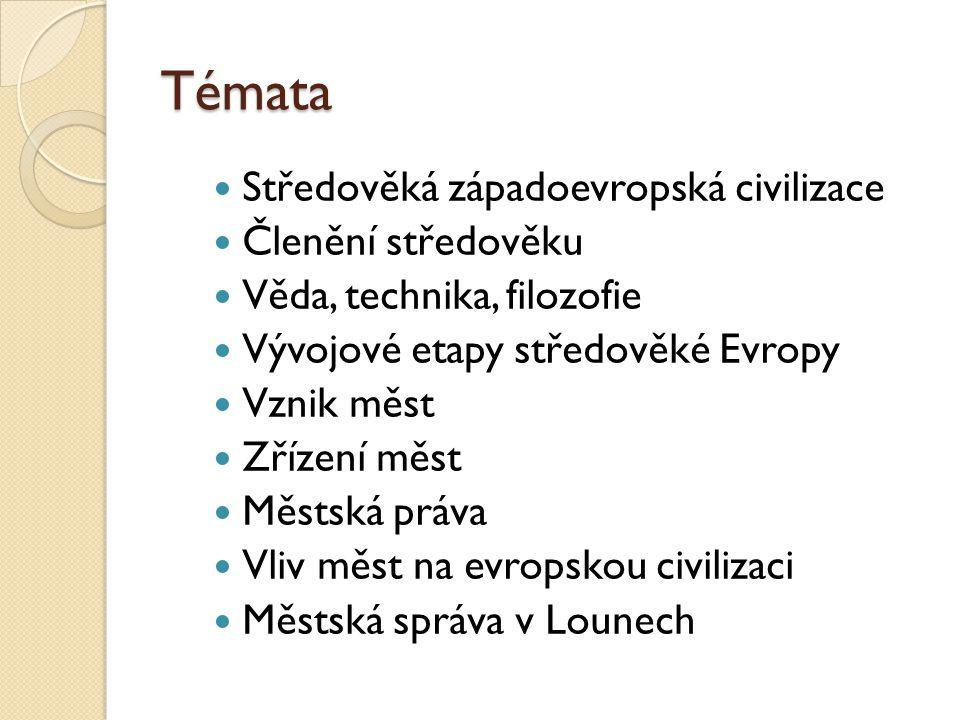Středověká Západní Evropa pojem středověk starověk-středověk-novověk Kryštof Keller (1688) geografická x kulturní Z Evropa oblast evropské středověké civilizace