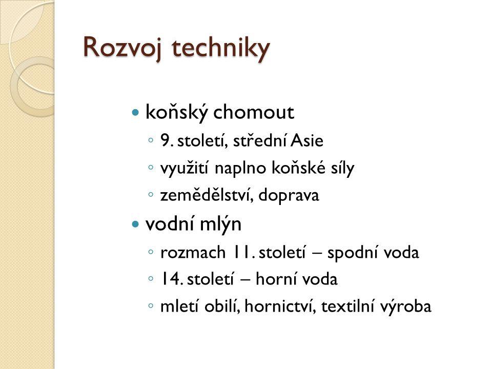 Vrcholný středověk 11.-14.
