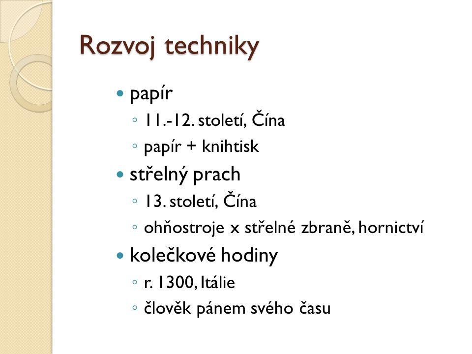 Pozdní středověk 14.-15.