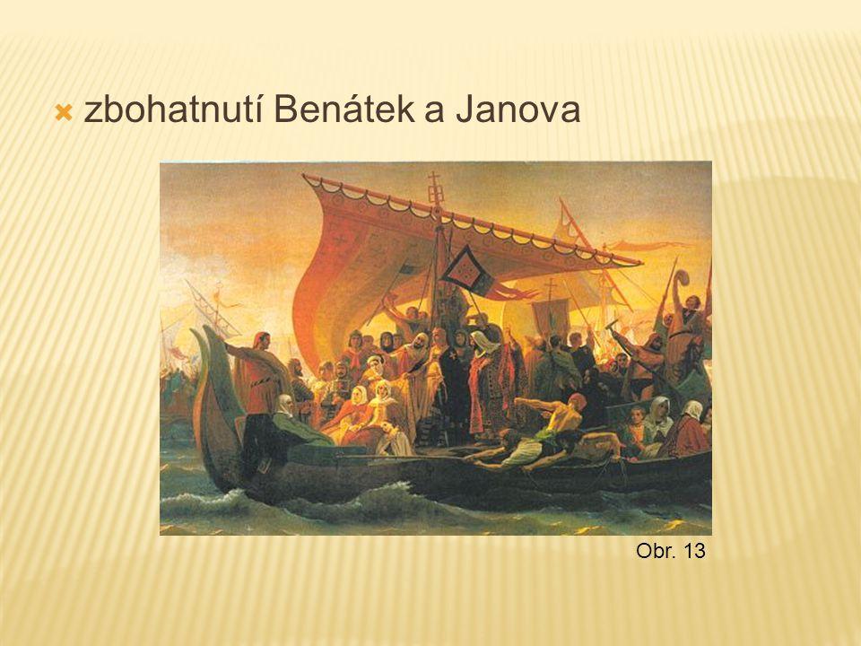  zbohatnutí Benátek a Janova Obr. 13