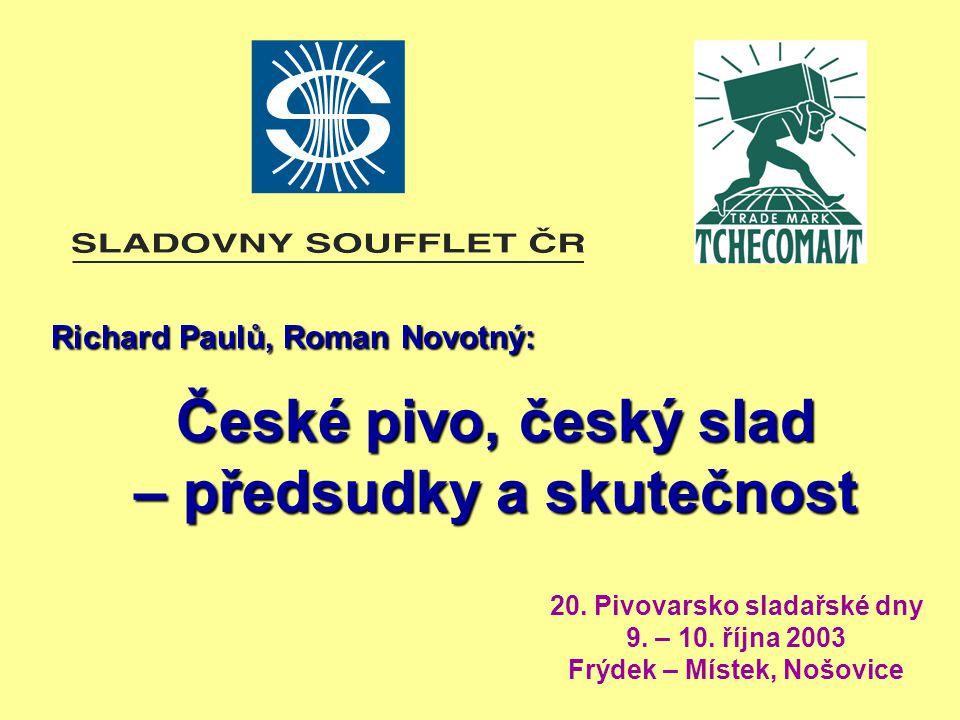 Richard Paulů, Roman Novotný: Richard Paulů, Roman Novotný: České pivo, český slad – předsudky a skutečnost 20.