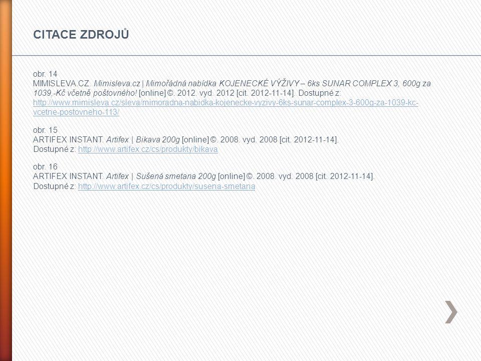obr. 14 MIMISLEVA.CZ. Mimisleva.cz | Mimořádná nabídka KOJENECKÉ VÝŽIVY – 6ks SUNAR COMPLEX 3, 600g za 1039,-Kč včetně poštovného! [online] ©. 2012. v