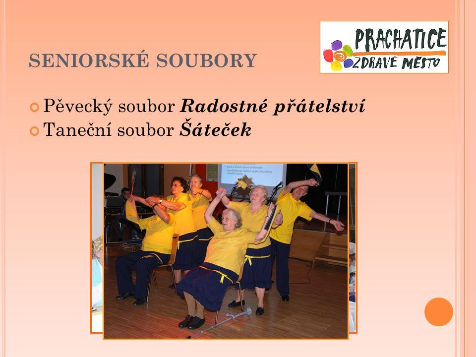 SENIORSKÉ SOUBORY Pěvecký soubor Radostné přátelství Taneční soubor Šáteček