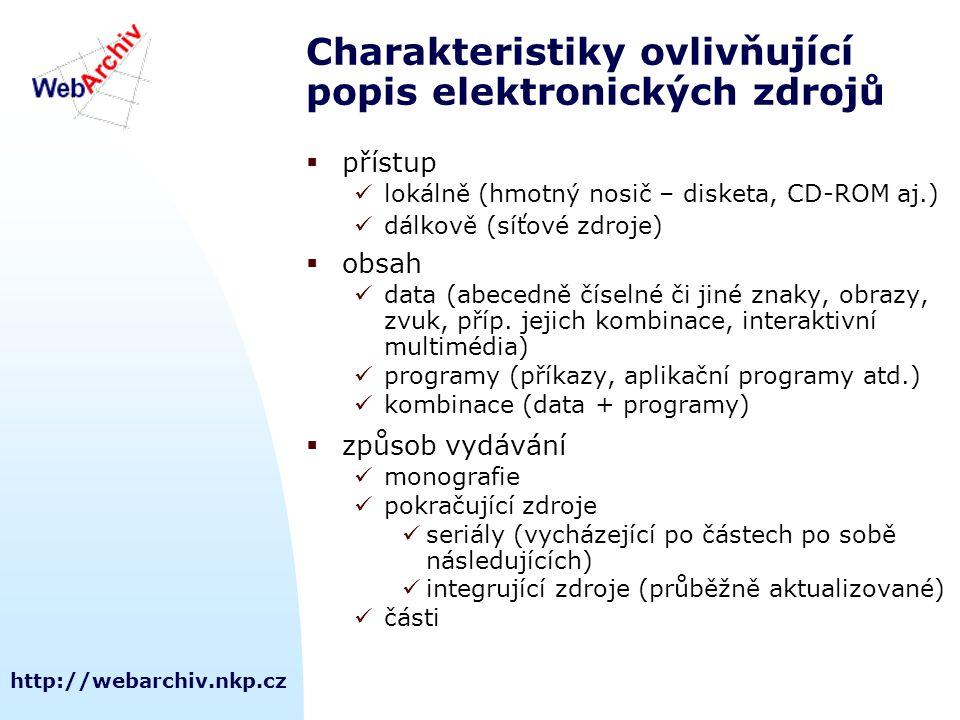http://webarchiv.nkp.cz  WebArchiv: http://webarchiv.nkp.cz  Ludmila Celbová: ludmila.celbova@nkp.cz Prezentace IPVZ 13.