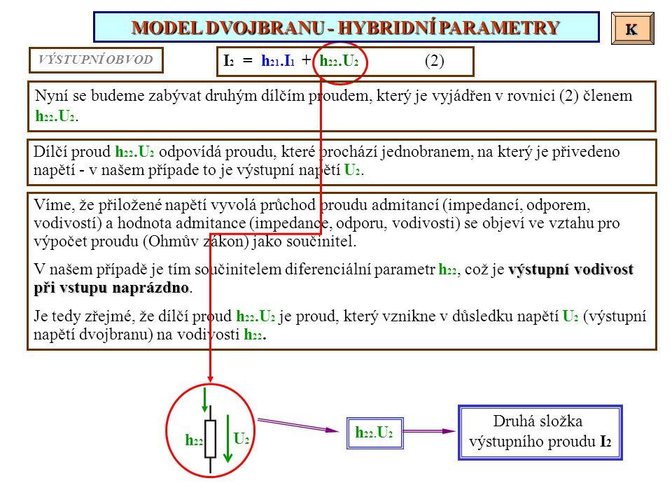 Víme, že přiložené napětí vyvolá průchod proudu admitancí (impedancí, odporem, vodivostí) a hodnota admitance (impedance, odporu, vodivosti) se objeví