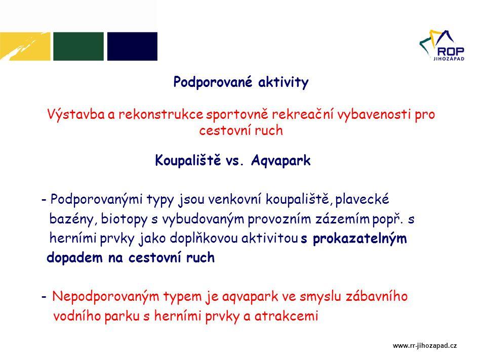 Důležitá upozornění Veškeré doplňkové aktivity (např.