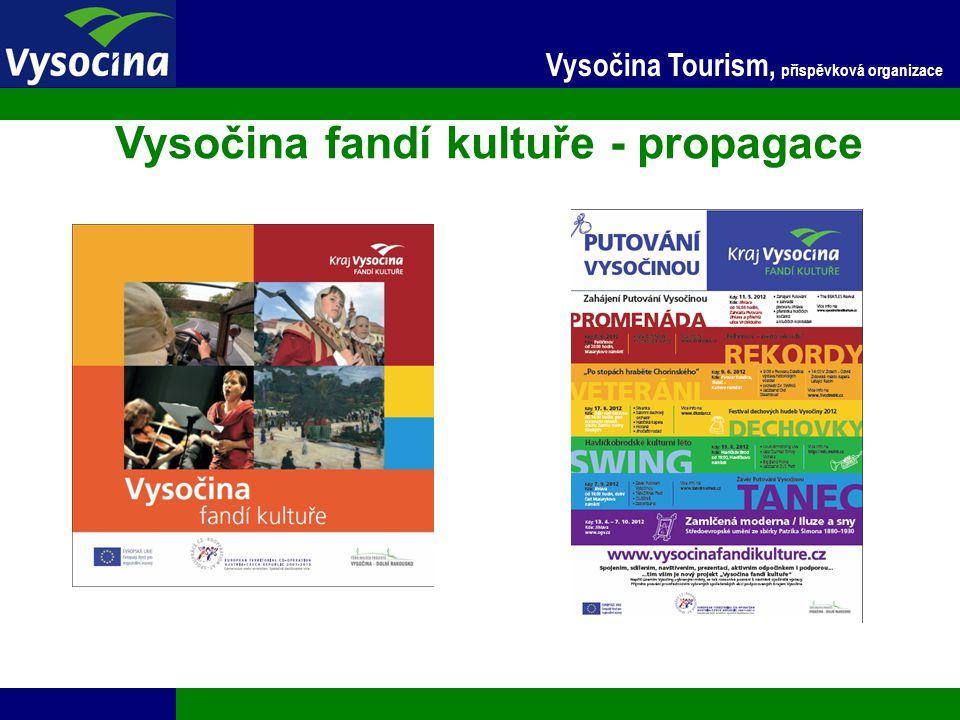 24.11.2014 11 Vysočina Tourism, příspěvková organizace Vysočina fandí kultuře - propagace