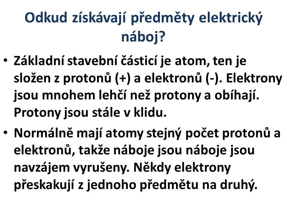 Atom tak dostane elektrony navíc a záporně se nabije.