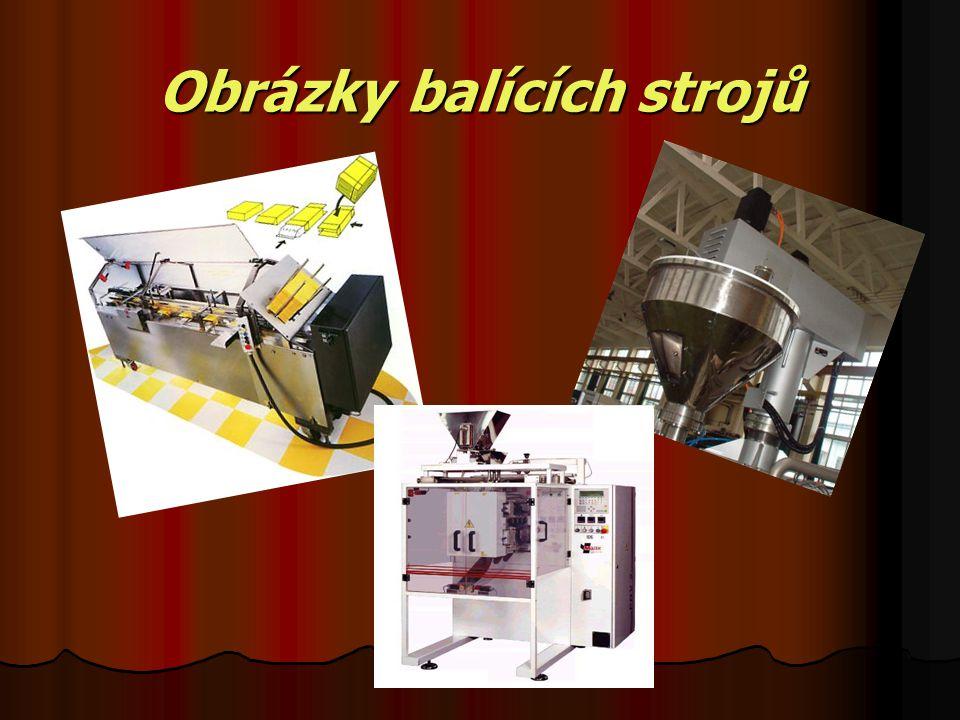 Obrázky balících strojů