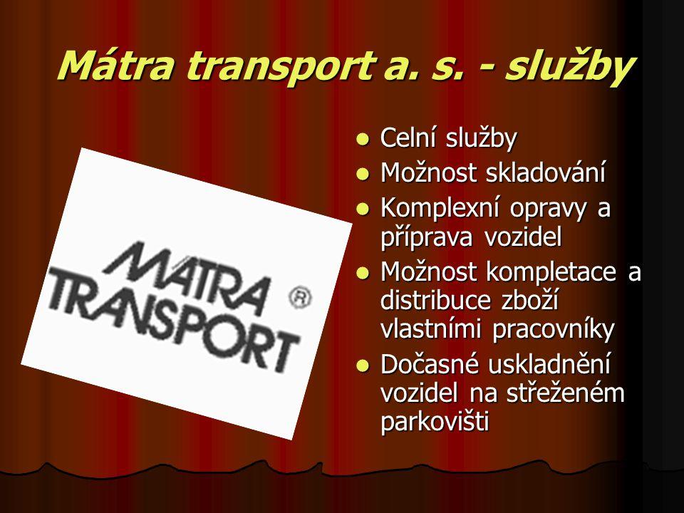 Mátra transport a. s.