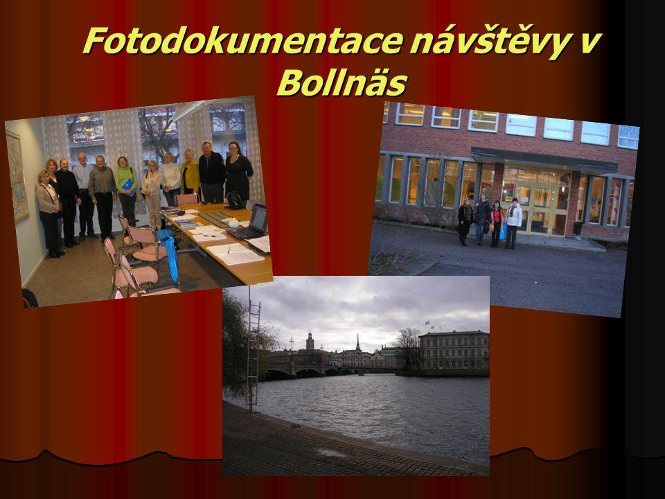 Fotodokumentace návštěvy v Bollnäs