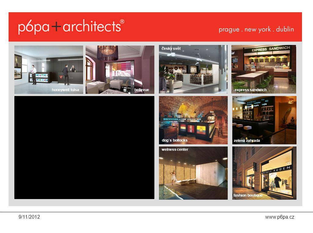 """9/11/2012www.p6pa.cz investor /klient lokalita personál brand produkt architekt/ projektant dispozice interiéru stavebně technické požadavky návrh interiéru vize p6pa """"6 th sense cluttering show ."""