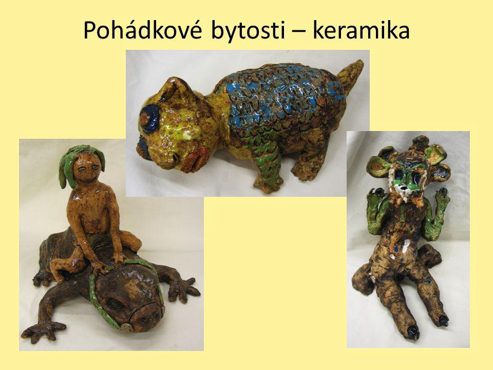 Pohádkové bytosti – keramika