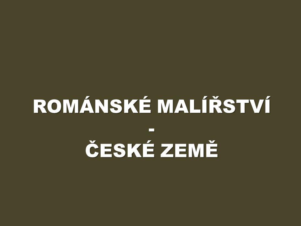ÚVOD Výukový materiál Románské malířství – české země obsahuje informace o základních podobách románského malířství v českomoravské oblasti.
