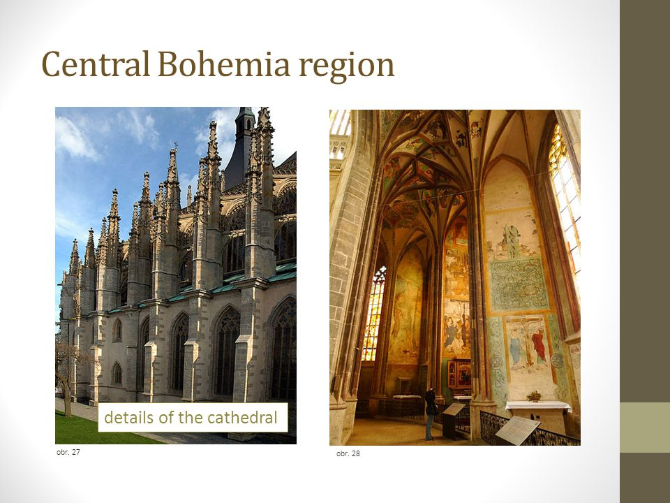 Central Bohemia region obr. 27 obr. 28 details of the cathedral
