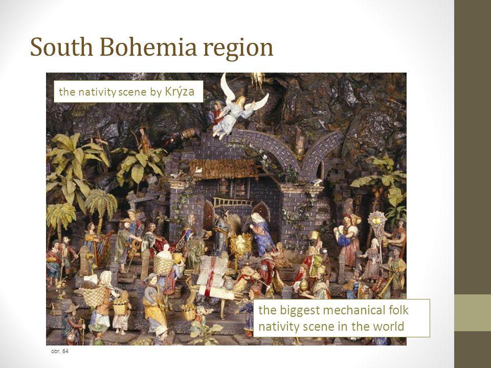 South Bohemia region the biggest mechanical folk nativity scene in the world the nativity scene by Krýza obr. 64