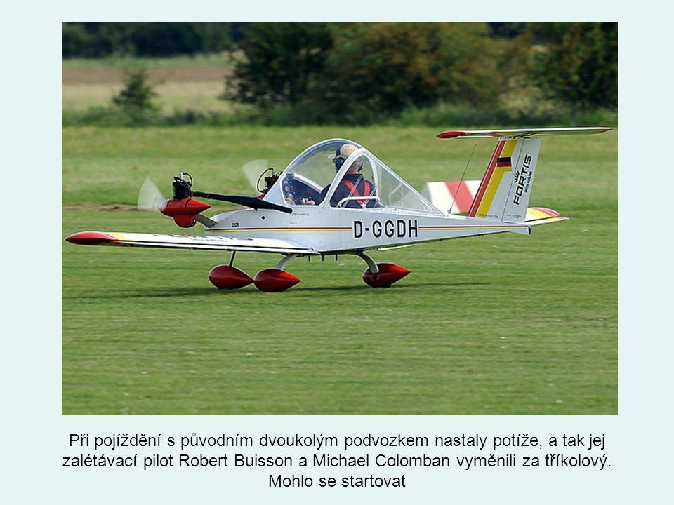 První let se uskutečnil 19. července roku 1973 na letišti Guyancourt airport kousek od Paříže