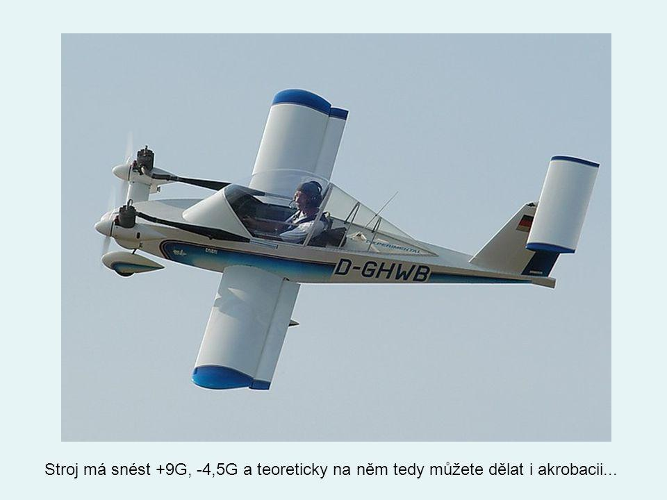 Po dvou až třech minutách je letadlo sestavené a může se do vzduchu