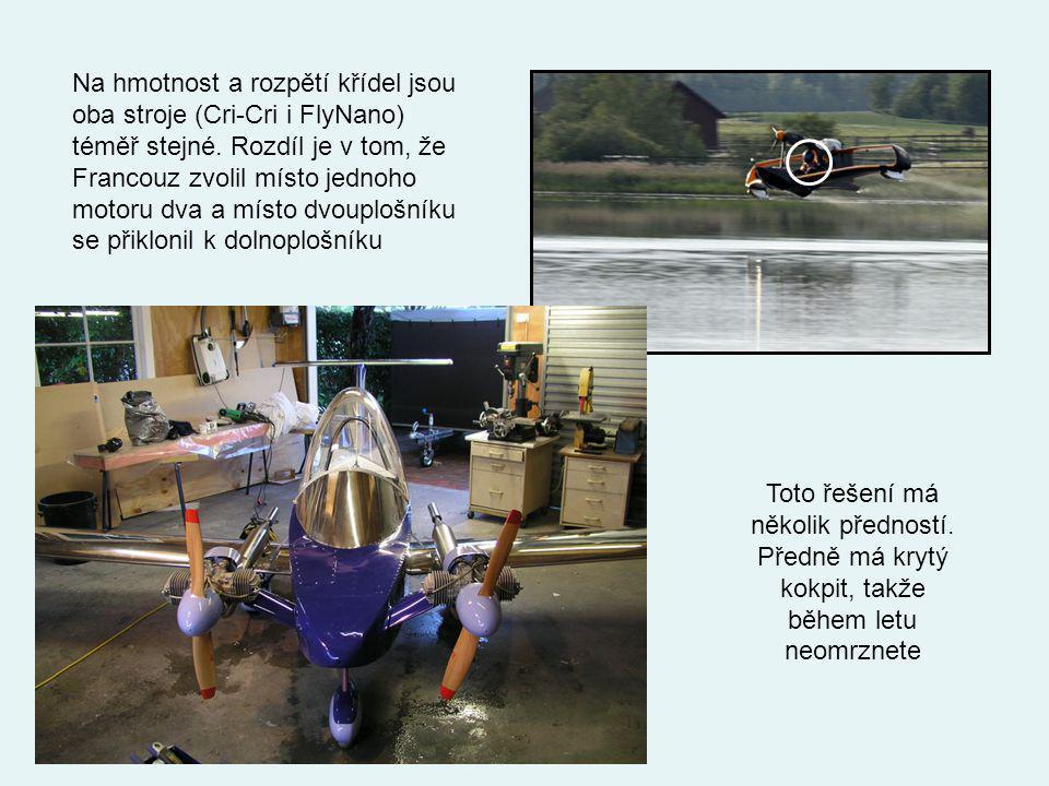 Finský letecký inženýr Aki Suokas představil na veletrhu Aero 2011 jednomístné letadlo nazvané FlyNano. Jde o jakýsi dvojplošník, jehož hmotnost je po