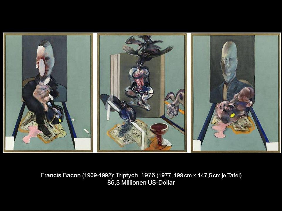 Mark Rothko (1903-1970) : Orange, Red, Yellow (1961, 236 cm × 206 cm) 86,9 Millionen US-Dollar