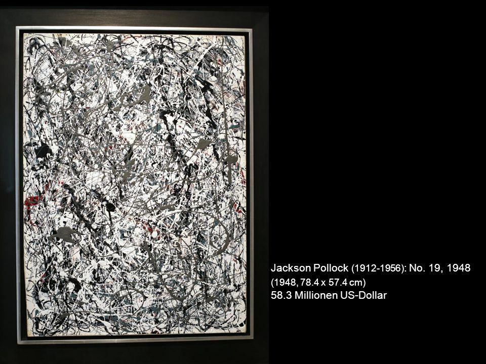 Kasimir Sewerinowitsch Malewitsch (1879-1935) : Suprematistische Komposition (1916, 88,5 cm x 71 cm) 60 Millionen US-Dollar