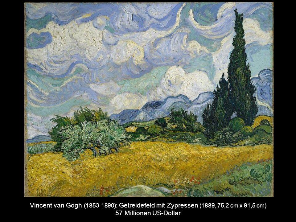 Jackson Pollock (1912-1956) : No. 19, 1948 (1948, 78.4 x 57.4 cm) 58.3 Millionen US-Dollar