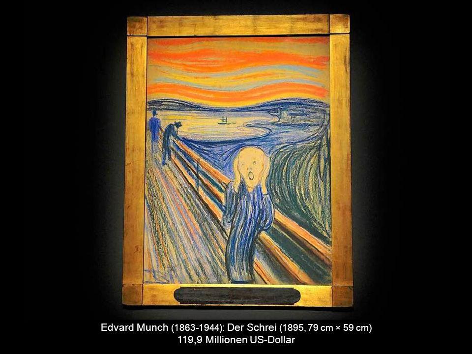 Gustav Klimt (1862-1918) : Adele Bloch-Bauer I (1907, 138 cm x 138 cm) 135 Millionen US-Dollar