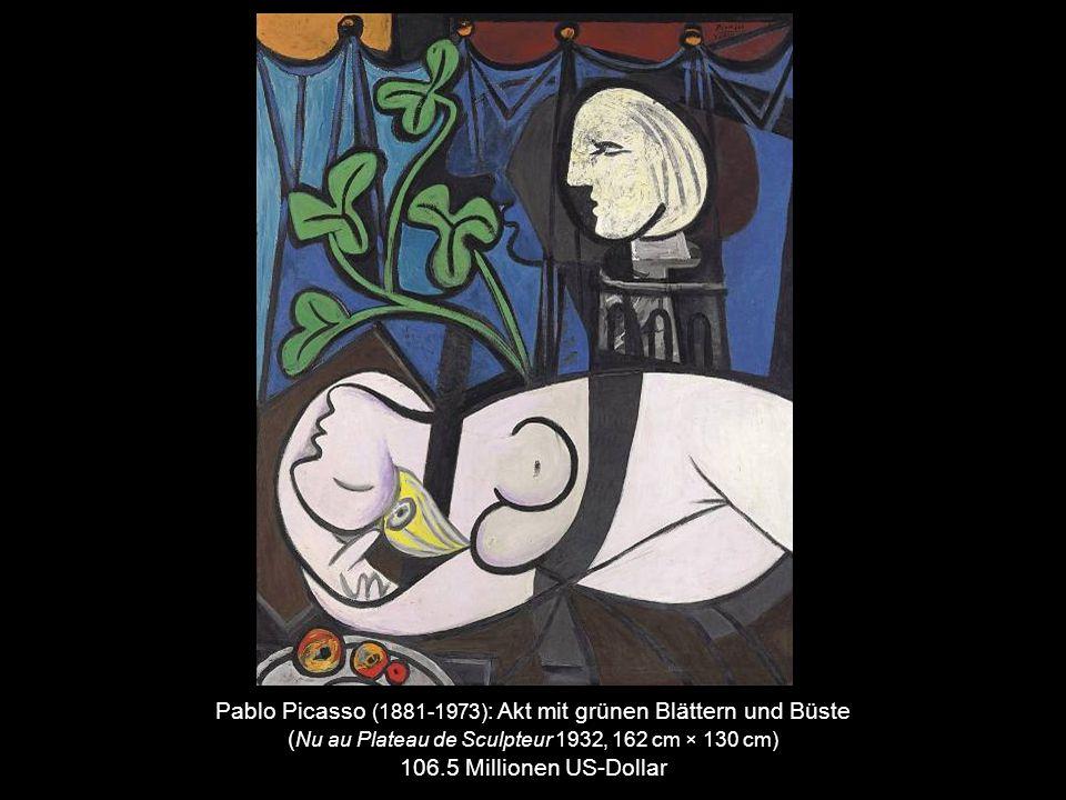 Edvard Munch (1863-1944) : Der Schrei (1895, 79 cm × 59 cm) 119,9 Millionen US-Dollar