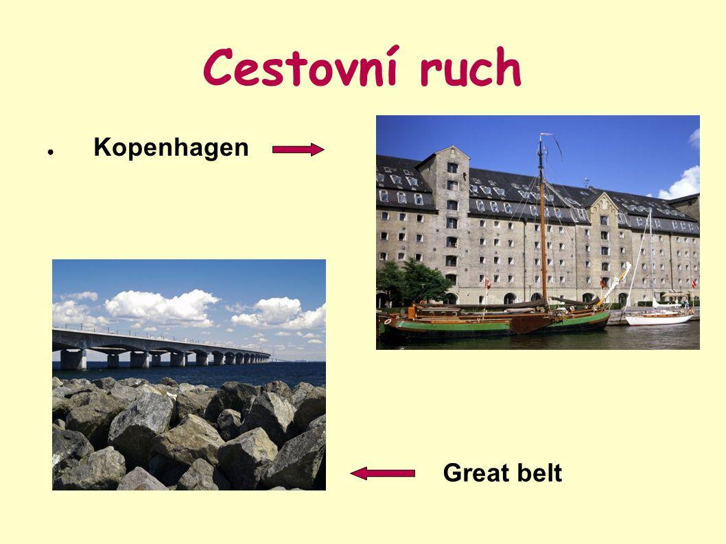 Cestovní ruch ● Kopenhagen Great belt