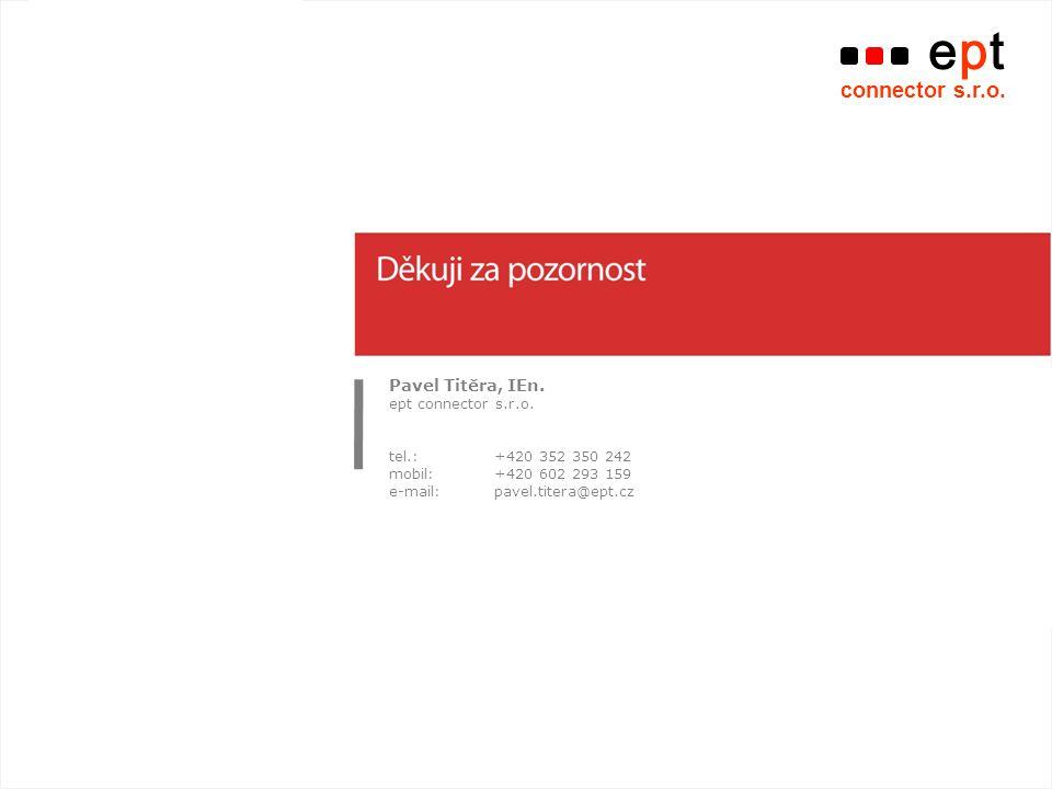 Typ akce | název akce ept connector s.r.o.Pavel Titěra, IEn.