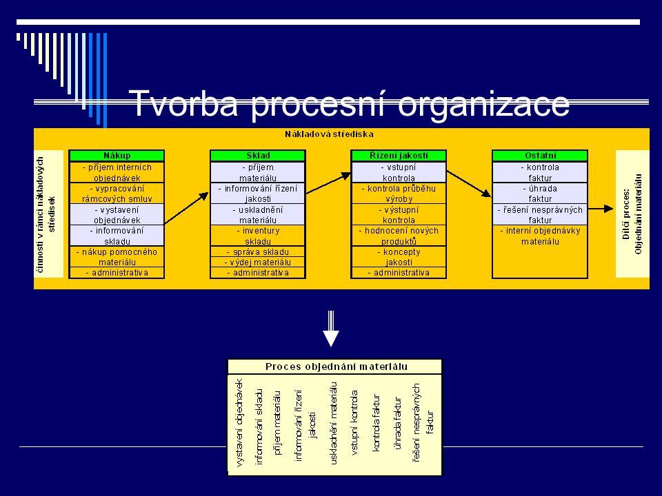 Tvorba procesní organizace
