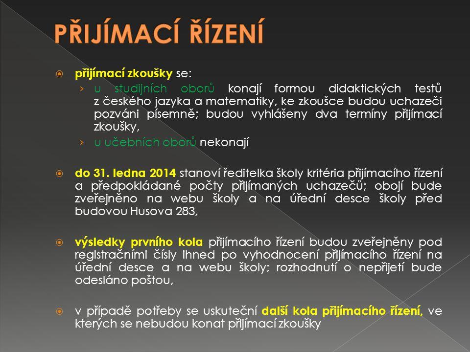 V oblasti přijímacího řízení doporučujeme sledovat › www.msmt.cz › www.sosboh.cz › http://verejna-sprava.kr- moravskoslezsky.cz/sk_prijimaci_rizeni.html#zapisove_listky http://verejna-sprava.kr- moravskoslezsky.cz/sk_prijimaci_rizeni.html#zapisove_listky Informace ve škole: studijní referentka školy – p.