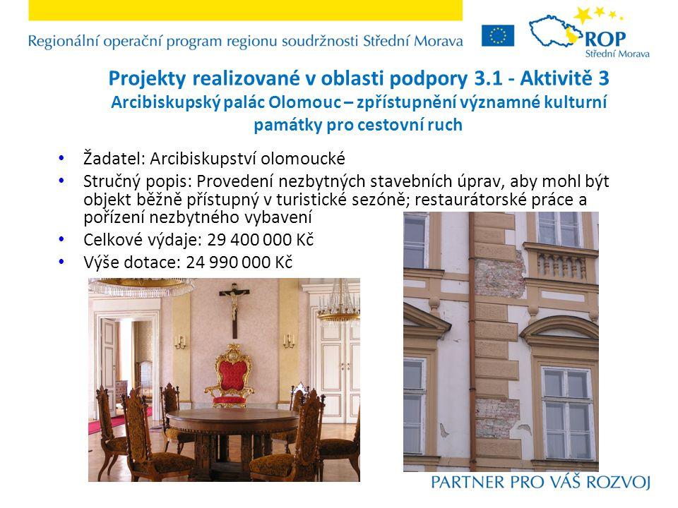 Projekty realizované v podoblasti podpory 3.3.1 - Aktivitě 1+2 Modernizace ubytování a zkvalitnění služeb hotelu Flora Žadatel: RAKAS, spol.